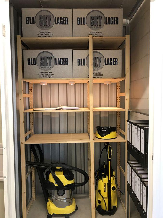 Möbel einlagern in Frankfurt am Main | Blu Sky Lager GmbH